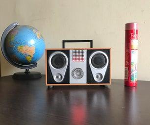 DIY Smart Speaker (Amazon Alexa + Bluetooth + Binary Clock + Audio Visualization)