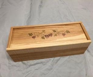 Pallet Wine Box