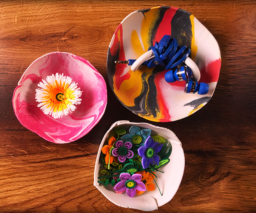 Cute Bowls Out Of Clay | Clay Craft Ideas