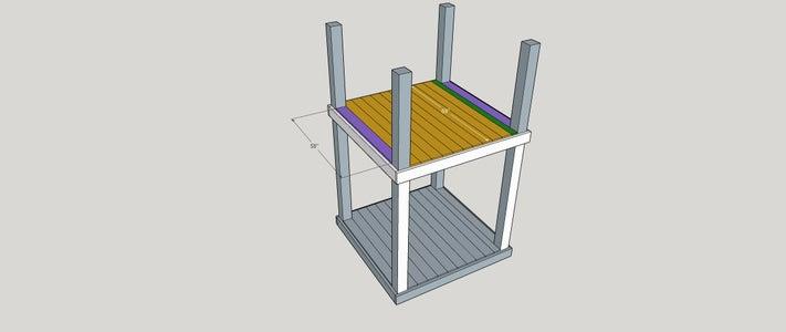 Step 4:  Top Decking