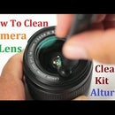 How to Clean Camera Lens and Camera Using a Cleaning Kit