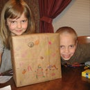 Giftwrapping with a Brown Paper Grocery Bag