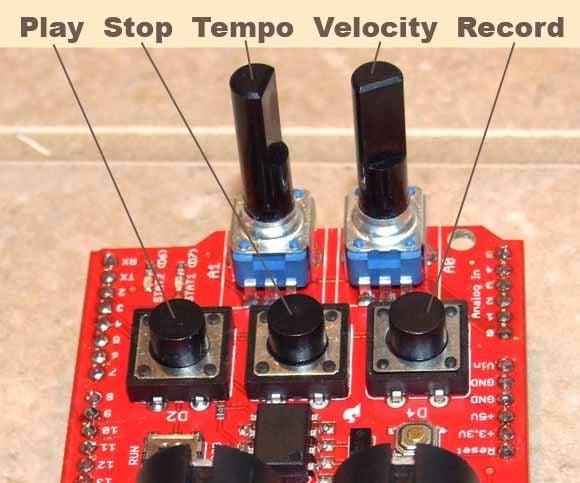 Old-School Arduino MIDI Sequencer