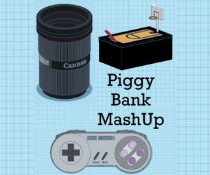 Piggy Bank Project: a Creative Mash Up With Endless Possibilities