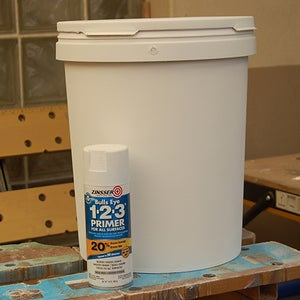 Prep and Paint the Containers
