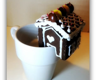 Cookie House on a Cup (no Gingerbread!)