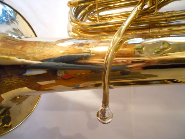 Removing a Stuck Mouthpiece From a Tuba (or Other Brass Instrument)