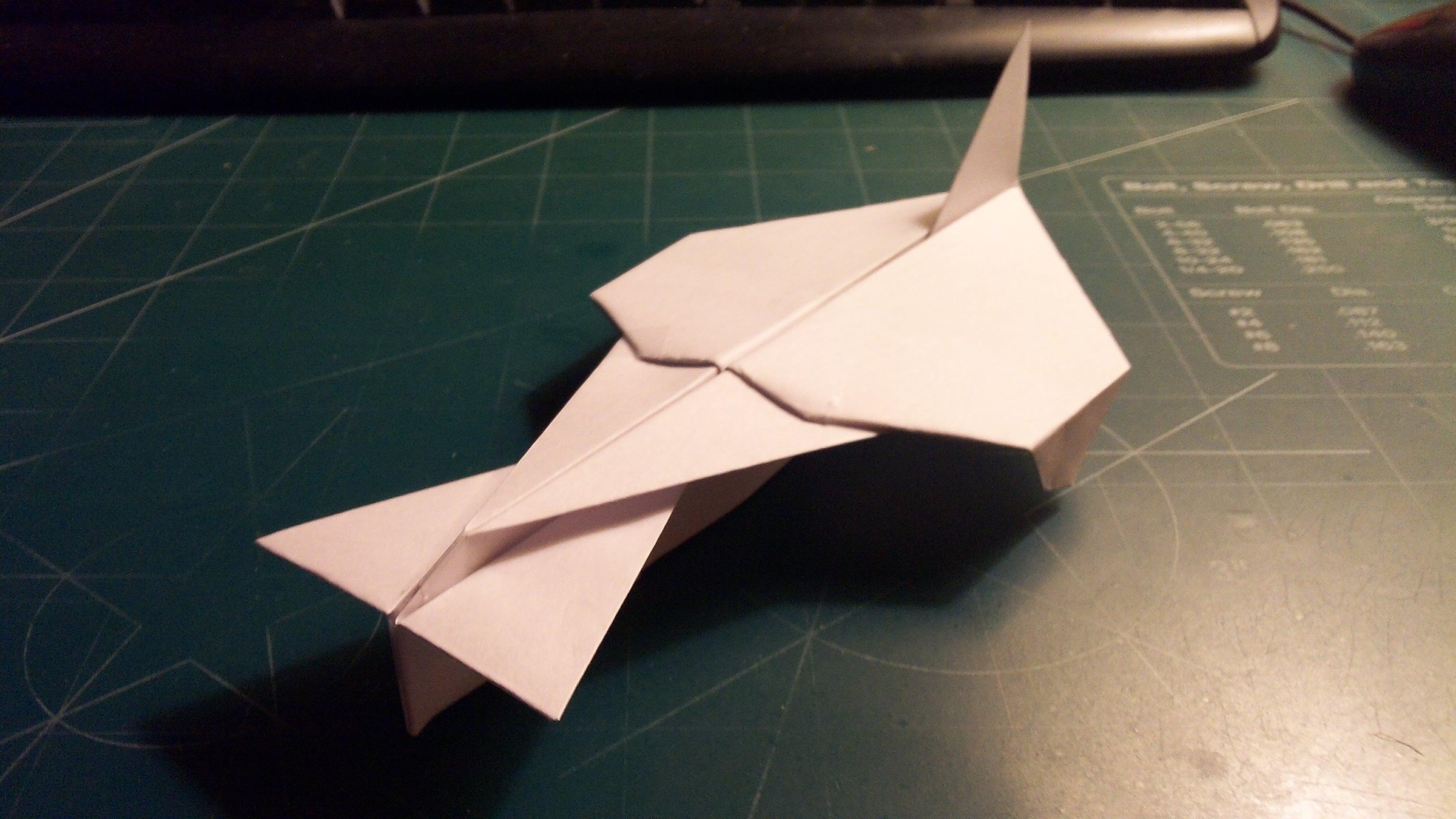 How To Make The AeroVengeance Paper Airplane