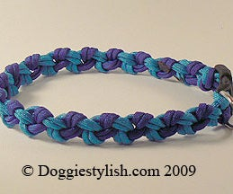 How To Make A Paracord Dog Collar Using The Seesaw Knot