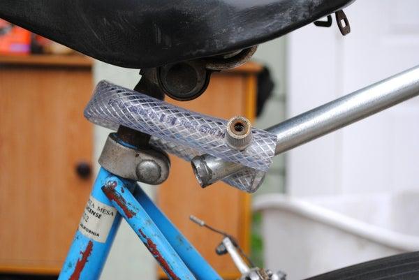 Easy Bike Trailer Hitch