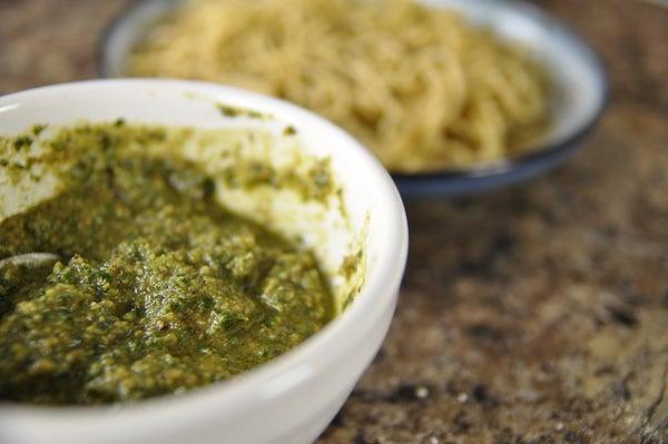 How to Make Vegan Pesto