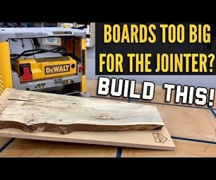 How to Make a Planer Sled
