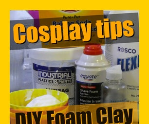 How to Make Your Own Foam Clay