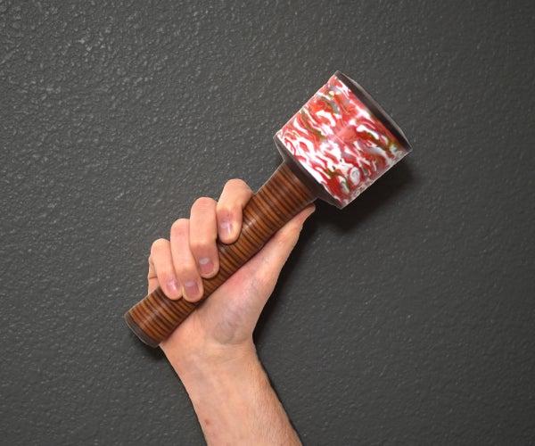 回收豪华木雕木槌