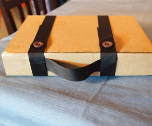 Cardboard Tablet Case With Handle