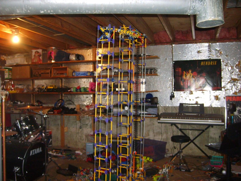 Fire HaZarD Knex Ball Machine Progress