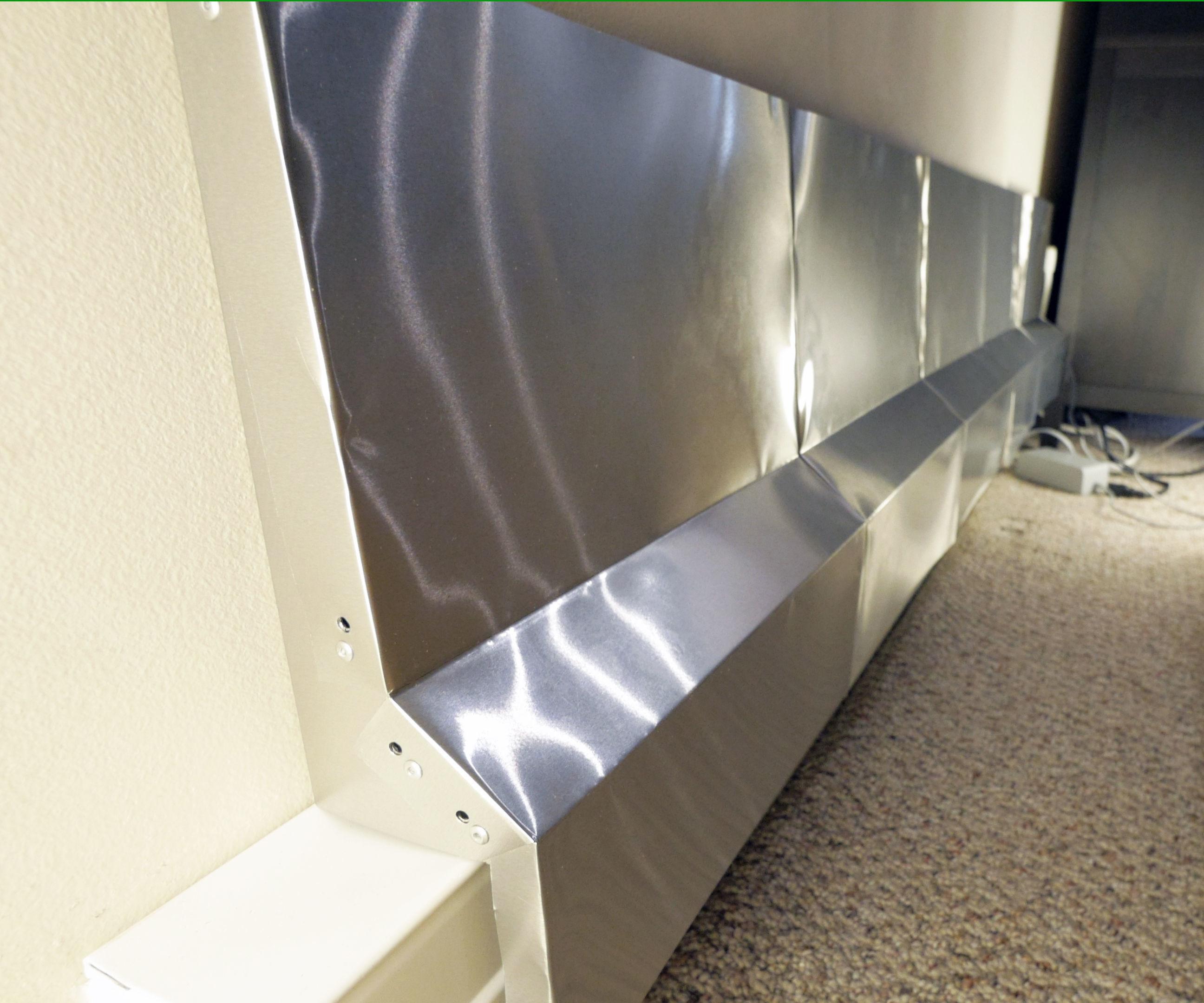 Baseboard Heat Shield / Chimney