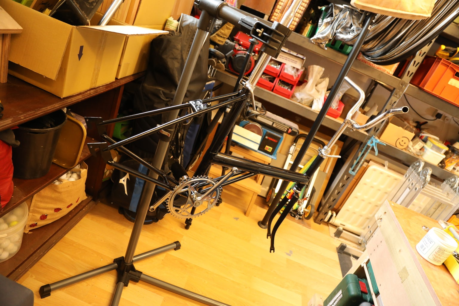 Reassembly of the Painted Frame