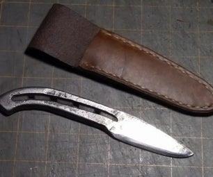 如何制作刀鞘
