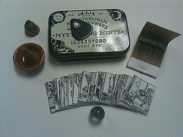 Tiny Seance Kit in a Mint Tin