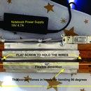 Un doblador de plástico / acrílico muy simple