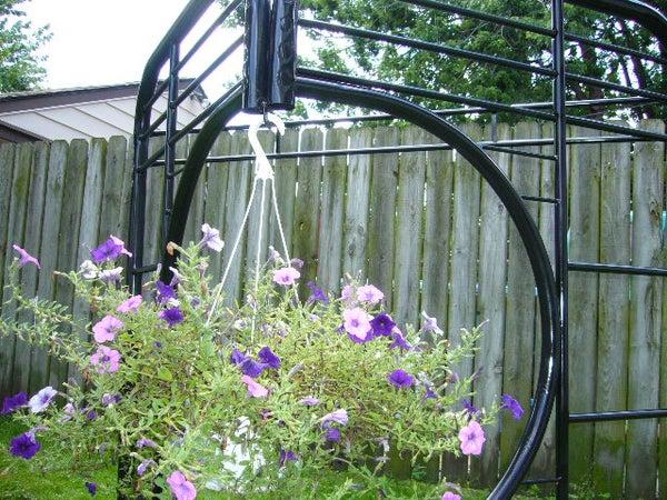 Hanging Basket Trellis
