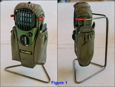 Make a Mat Holder Insert for the Thermacell Holster Pocket