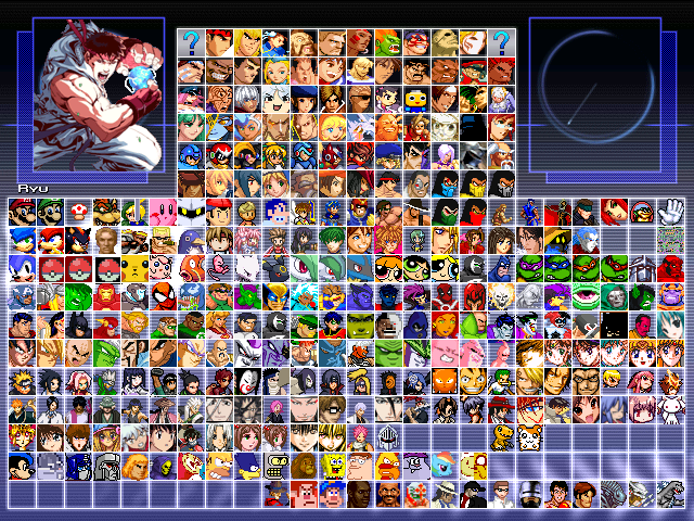 How to Build Your Own MUGEN Roster