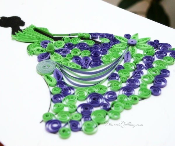 Paper Quilling Princess