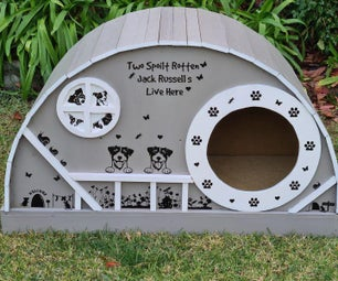 DIY Deluxe Dog House