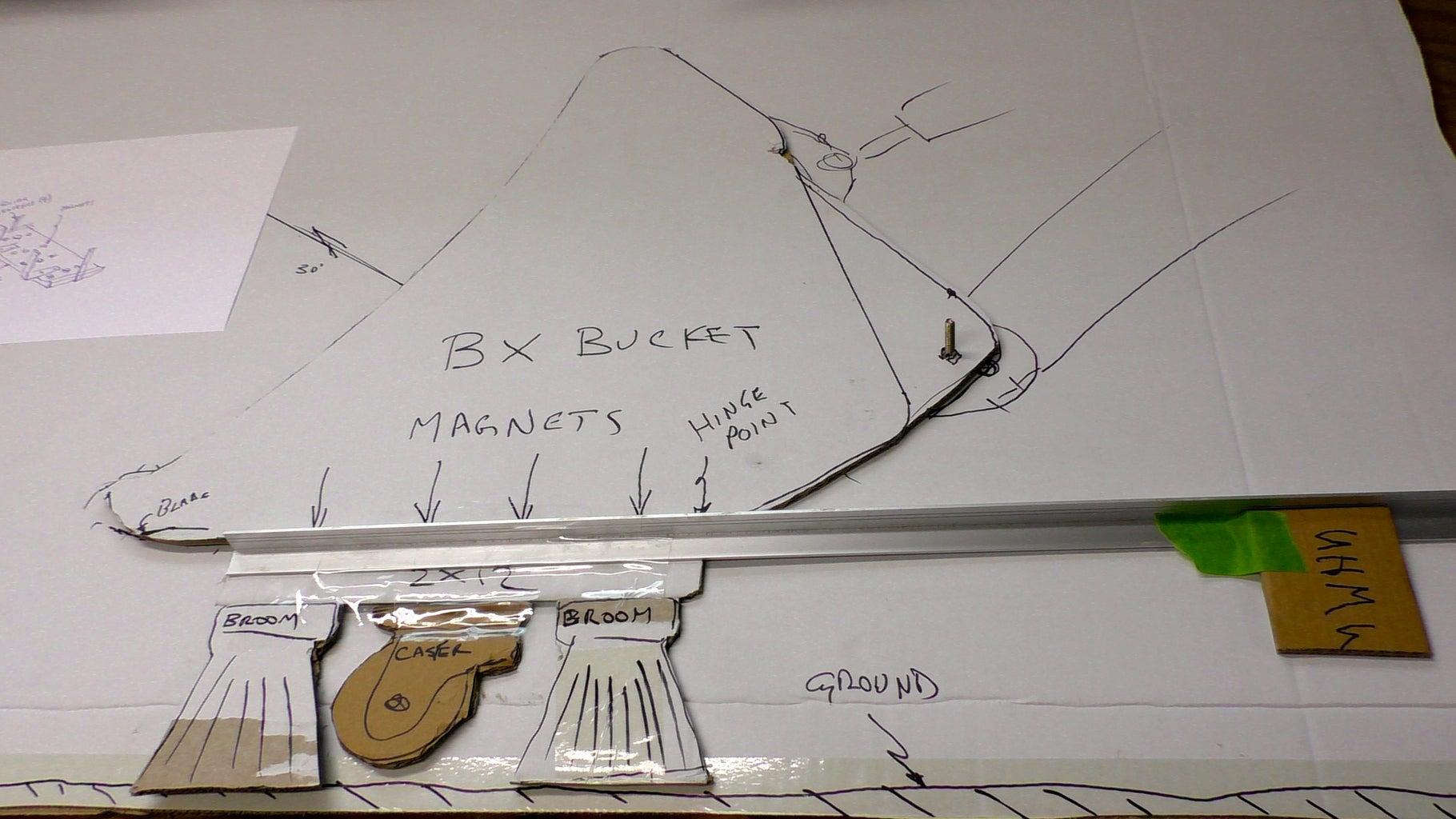 Cardboard Mockup and Rough Prototype