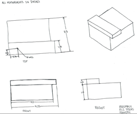 Hand Drawn Technical Drawings
