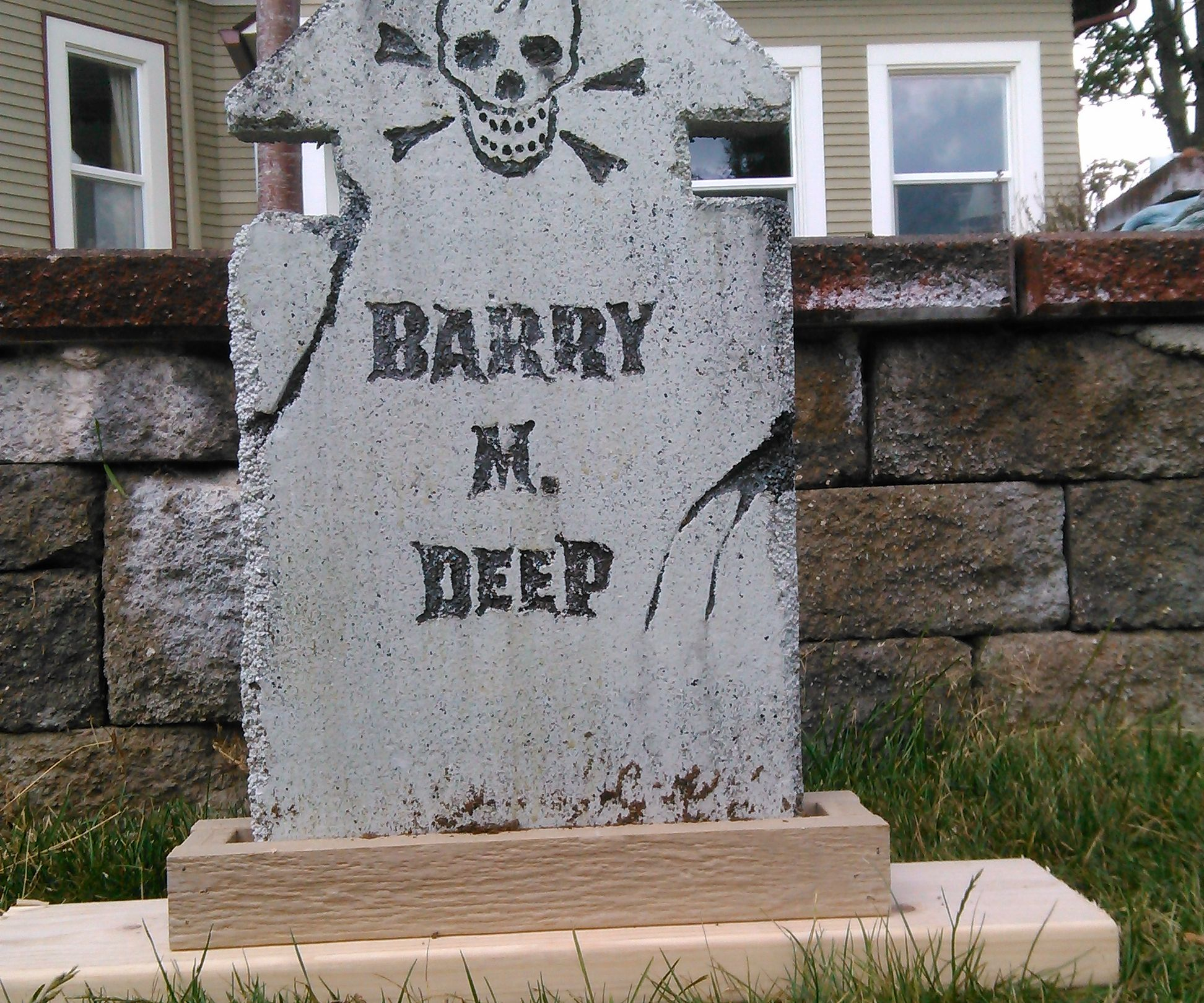 Halloween Tombstone Anchors / Bases