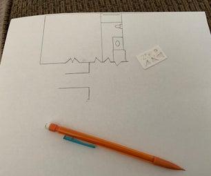 Mini House Plan Template