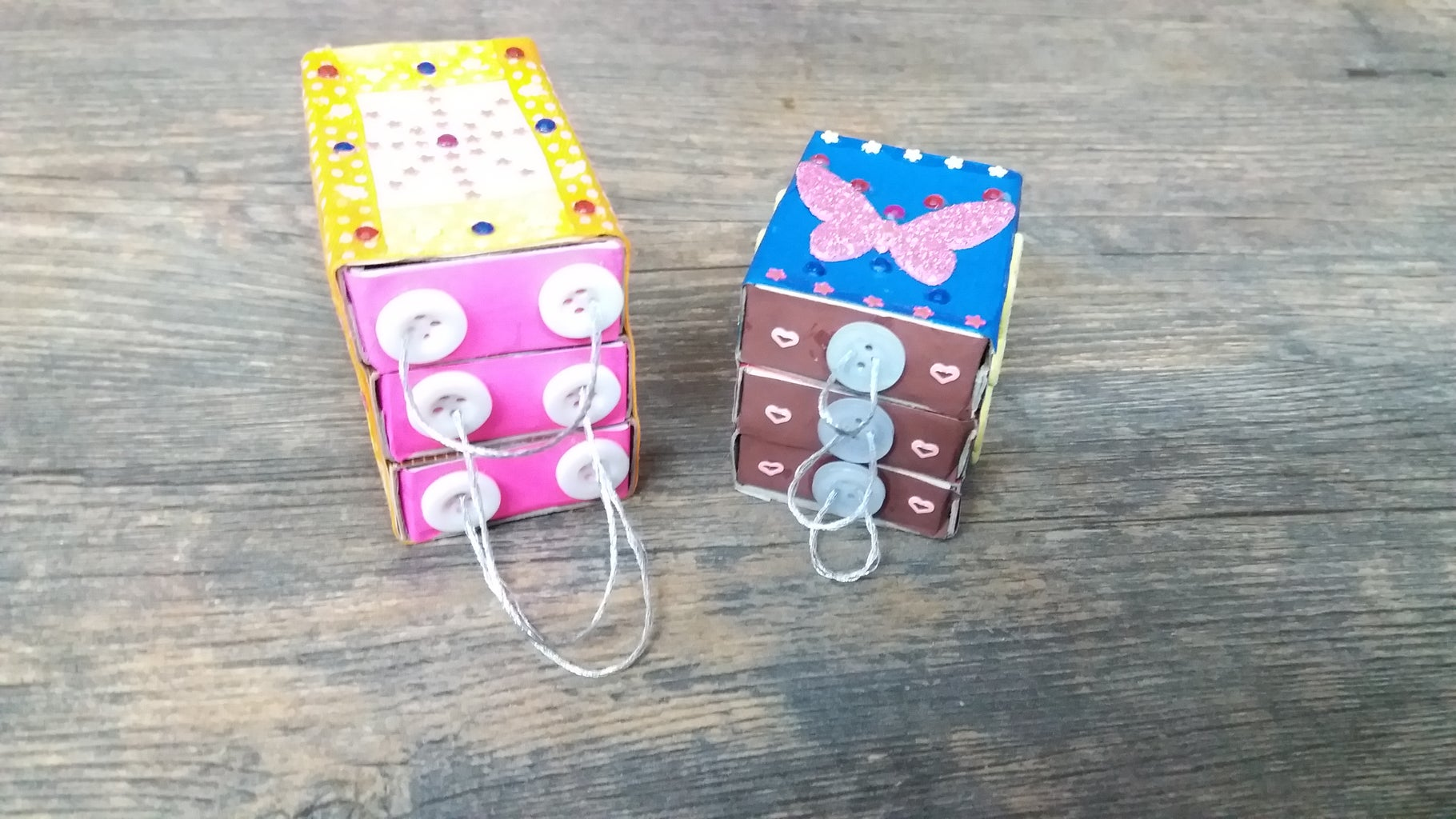 Miniature Jewellery Cabinet