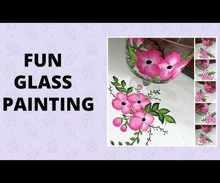 FUN GLASS PAINTING