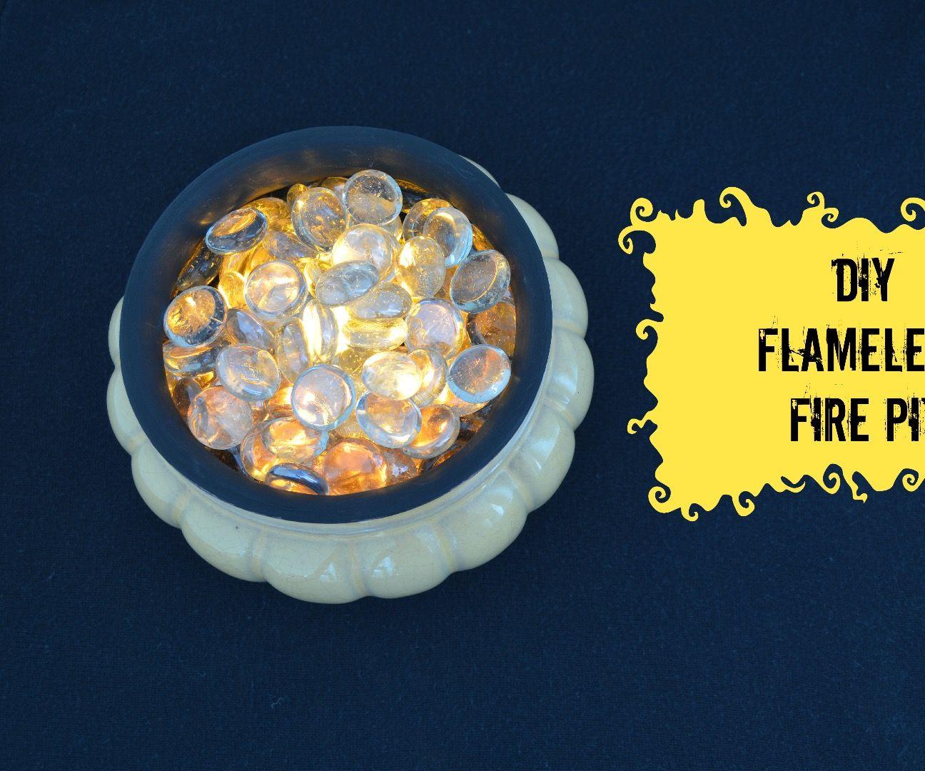 DIY Flameless Fire pit