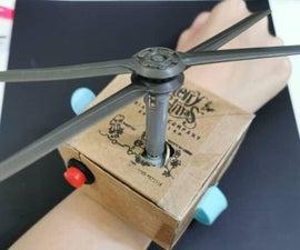 Cooling Mini Fan Watch