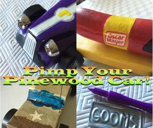 Pinewood Derby Car Detailing Ideas