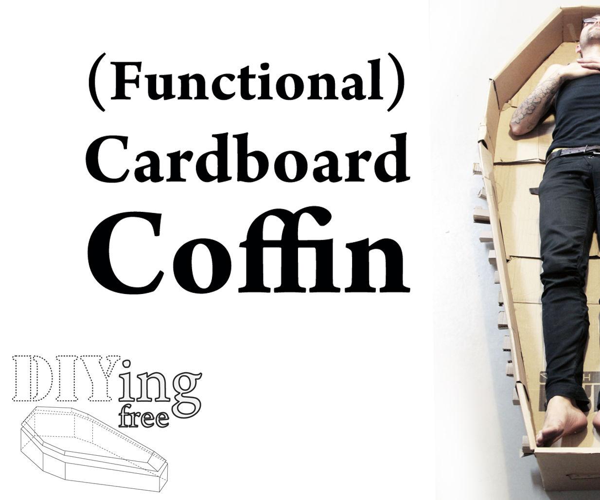 Cardboard Coffins (DIYing Free)
