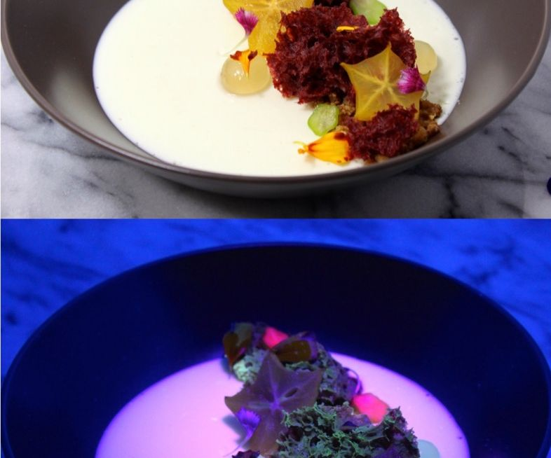 How to Make a Glowing Dessert!
