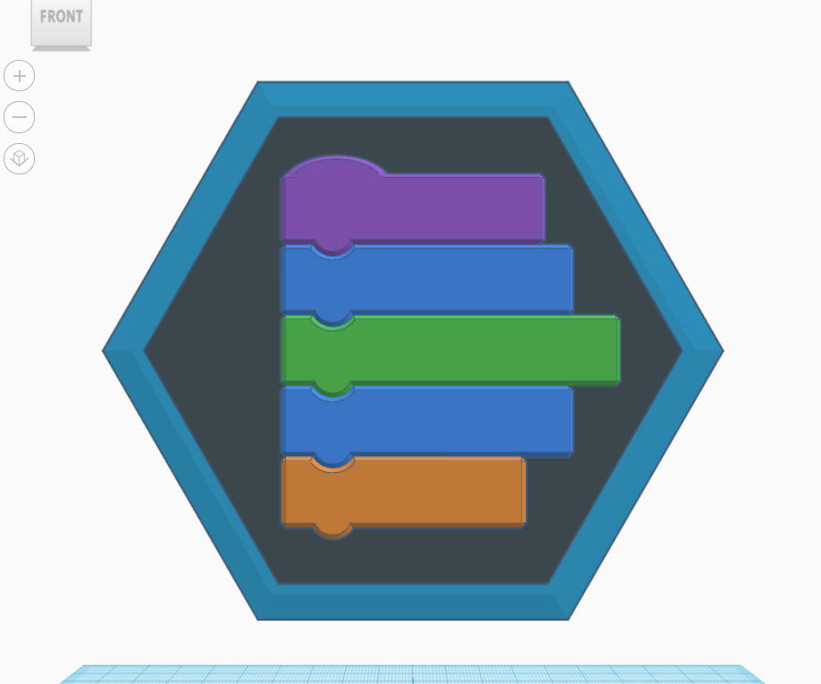 Badges With Tinkercad Codeblocks