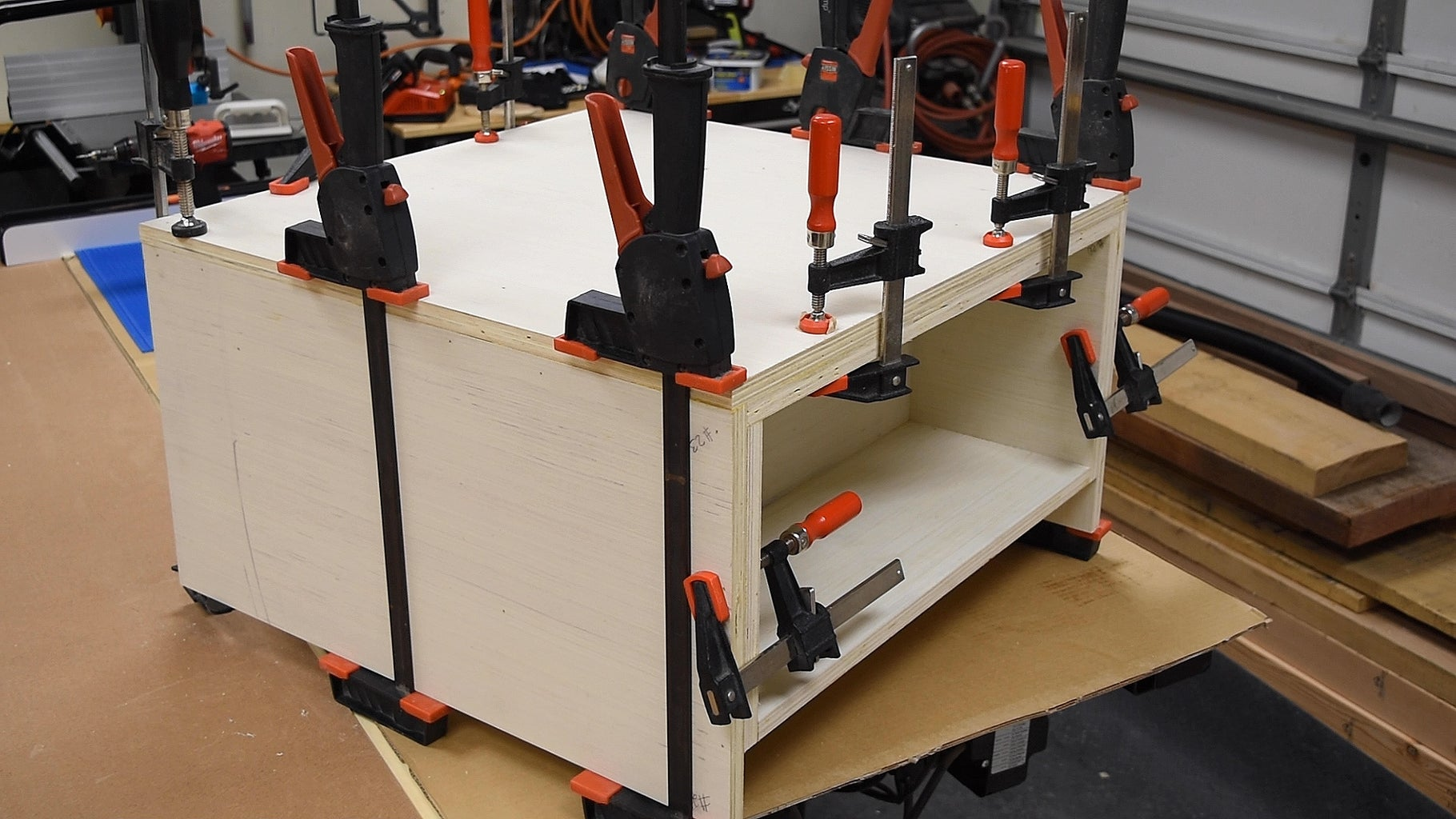 Gluing Up the Moving Part