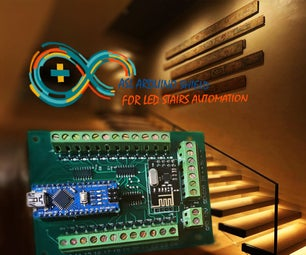 Easy Stairs Back Light Automation