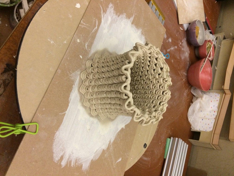 3D Print a Clay Mold