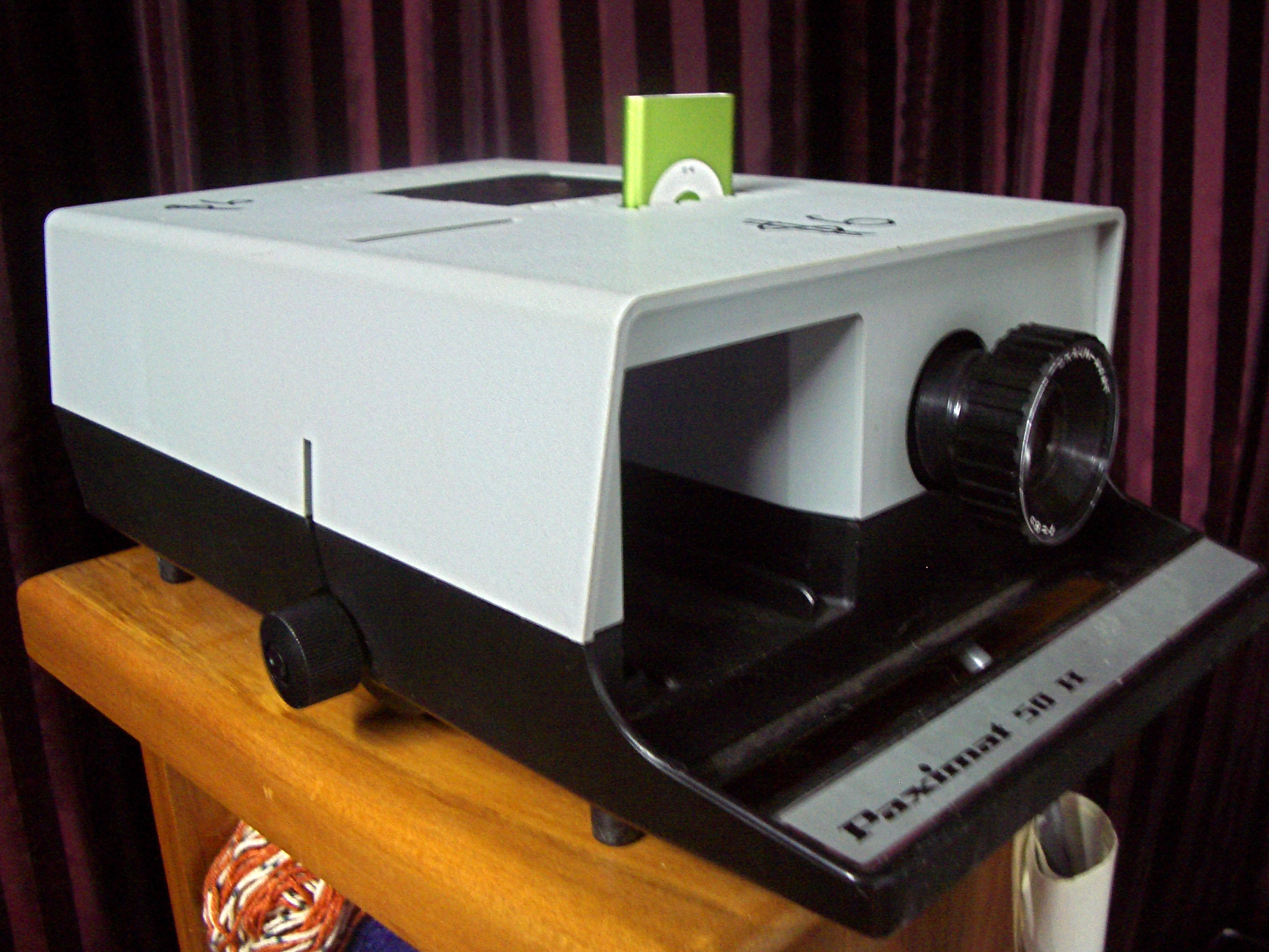 $6 Ipod Nano Projector