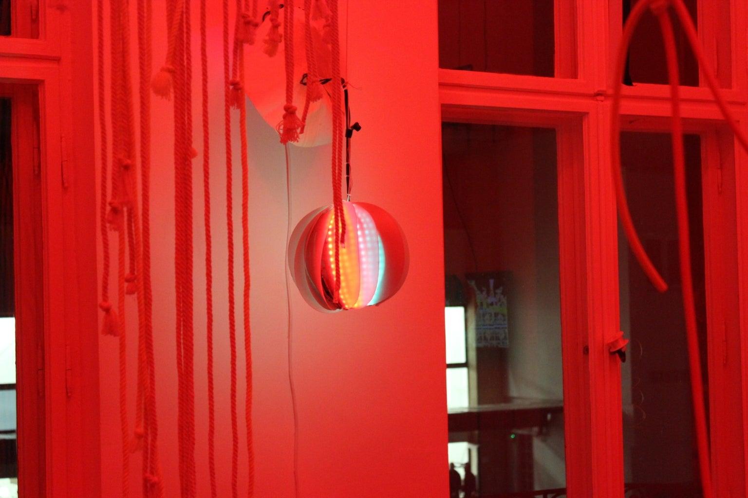 Interactive Sculpture : Externalizing Data
