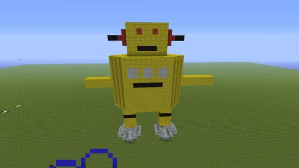 Minecraft Instructables Robot