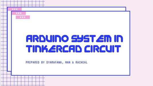 (LED With Switch) Arduino Simulation Using Tinkercad Circuit