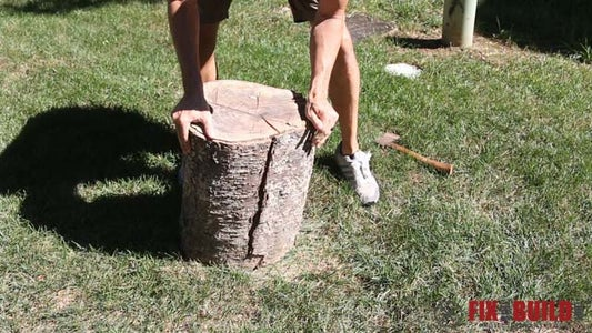 Find a Log and Split It